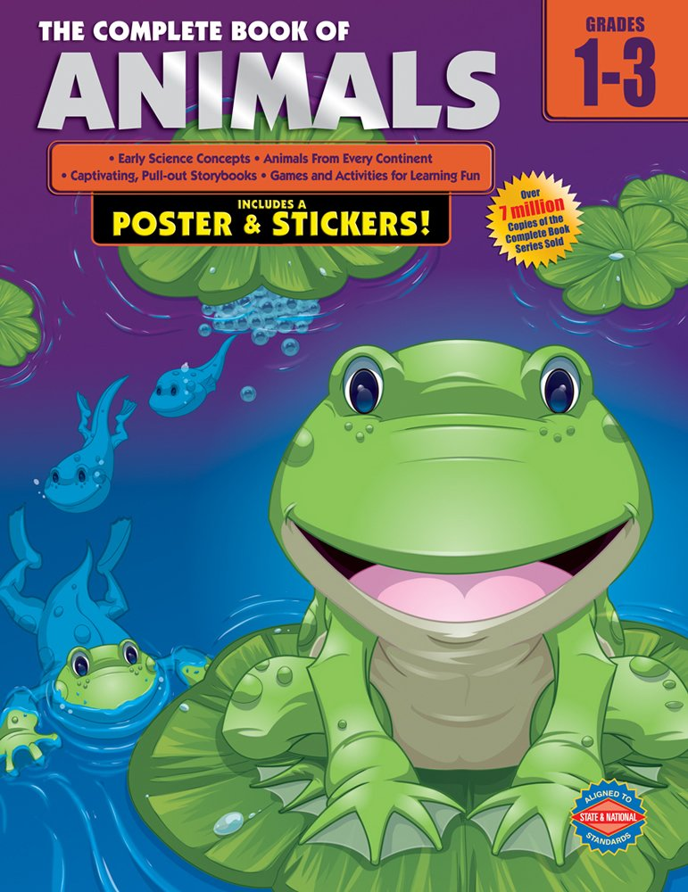 The Complete Book of Animals, Grades 1-3 ebook