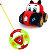 Big Mo's Toys RC Car - Remote Control Race Car Gift for Babies and Toddlers with Plush Cover