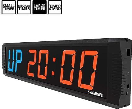 Fight Gear Interval Workout Timer LED Digital Boxing Round Timer GYM Sparring