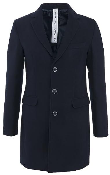 116da37b30 Hamaki-HO giacca Camouflage con dettagli blu: Amazon.it: Abbigliamento