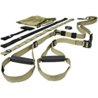 TRX Tactical Gym: The Most Durable Bodyweight Suspension Trainer | Used by US Military & Pro Athletes | Includes Free Force APP with a 12-Week Conditioning Program | Free Rugged Mesh Travel Bag