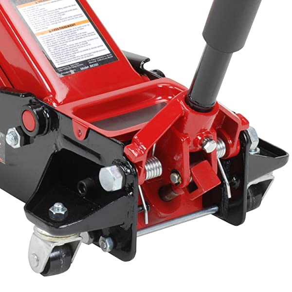 Blackhawk b6350 Floor Service Jack is a great choice if you have a very heavy vehicle.