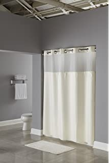hookless rbh53my307 3in1 shower curtain beige