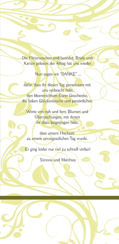 Kartenparadies Danksagung für Hochzeitsgeschenke Hochzeit Dankeskarte Blättertraum, hochwertige Danksagungskarte Hochzeitsglückwünsche Hochzeitsglückwünsche Hochzeitsglückwünsche inklusive Umschläge   10 Karten - (Format  105x215 mm) Farbe  RosaRosa B01MTBL1G9 | Sale Online 7414be