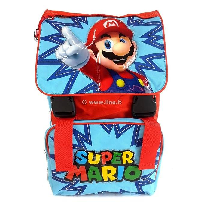 6c6b99201 Zaino Estensibile Super Mario Kids: Amazon.it: Abbigliamento