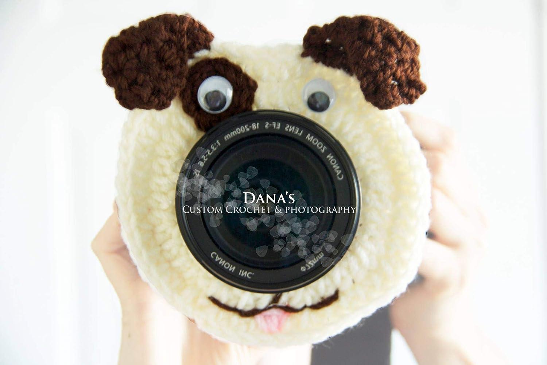 Puppy Camera Lens Buddy - Photography Prop - Kids - Children - Gift - Handmade - Fun - Photographer
