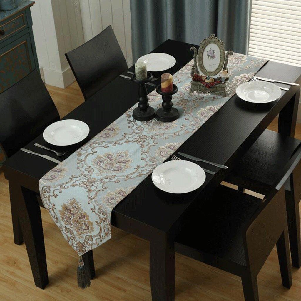 TABLE RUNNER Pride S Manteles de Mesa de café Manteles de Tela de Decoración Manteles de Mesa de Doble Capa (Tamaño : 32  180cm)