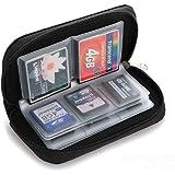 Tongshi Tarjeta de memoria de almacenamiento caja de la carpeta del sostenedor del bolso Micro SD Mini 22 Slots teléfono con cámara