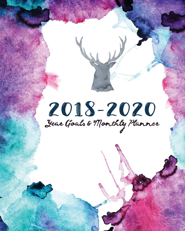 2018-2020 Year Goals and Monthly Planner: Nature power 30 Months Calendar Yearly Goals Monthly Task Checklist (Planner Organizer) (Volume 24) ebook