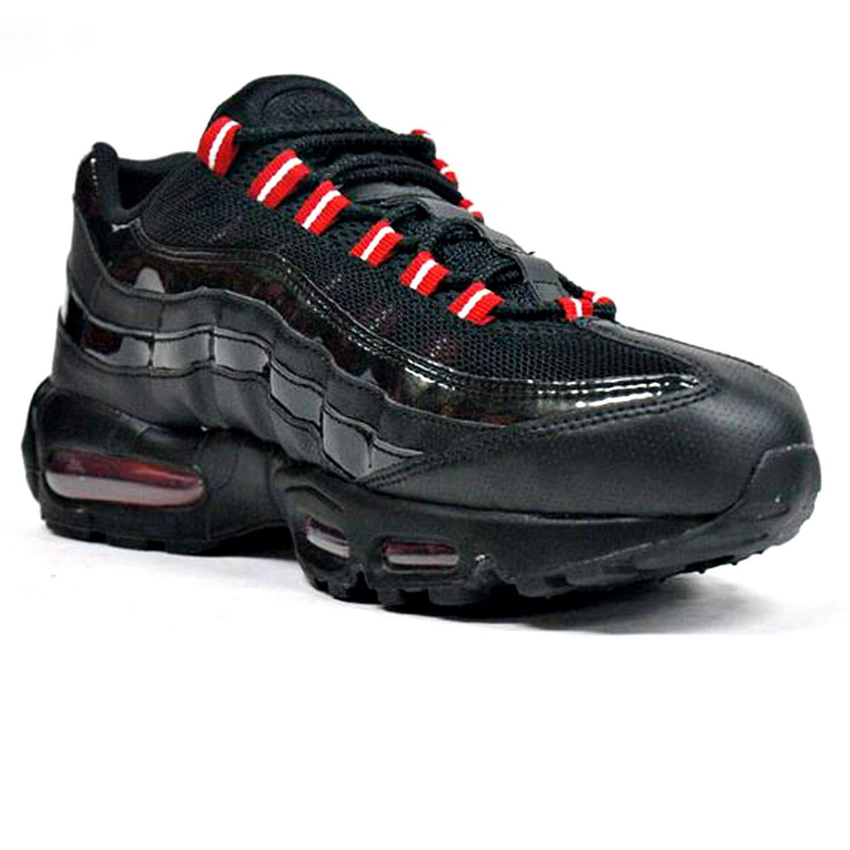 f55ca727fff Nike Mens Air Max 95 Black Red Running Shoes 609048-037 US 105 hot ...