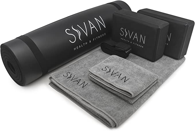Sivan health and fitness yoga Exercise Mat - best yoga mats for sweaty hands