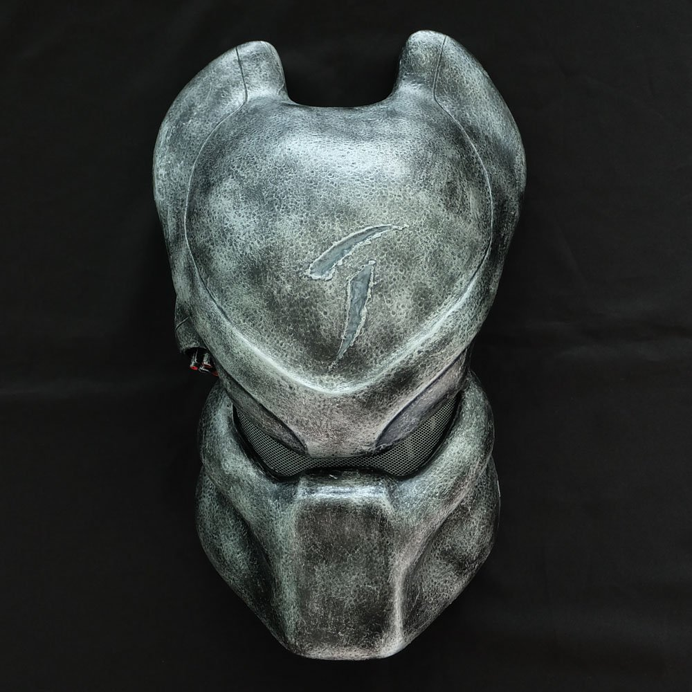 1:1 Full Scale Movie Prop Replica Predator AVP Helmet Mask Scar Bio Wall hanging PD2