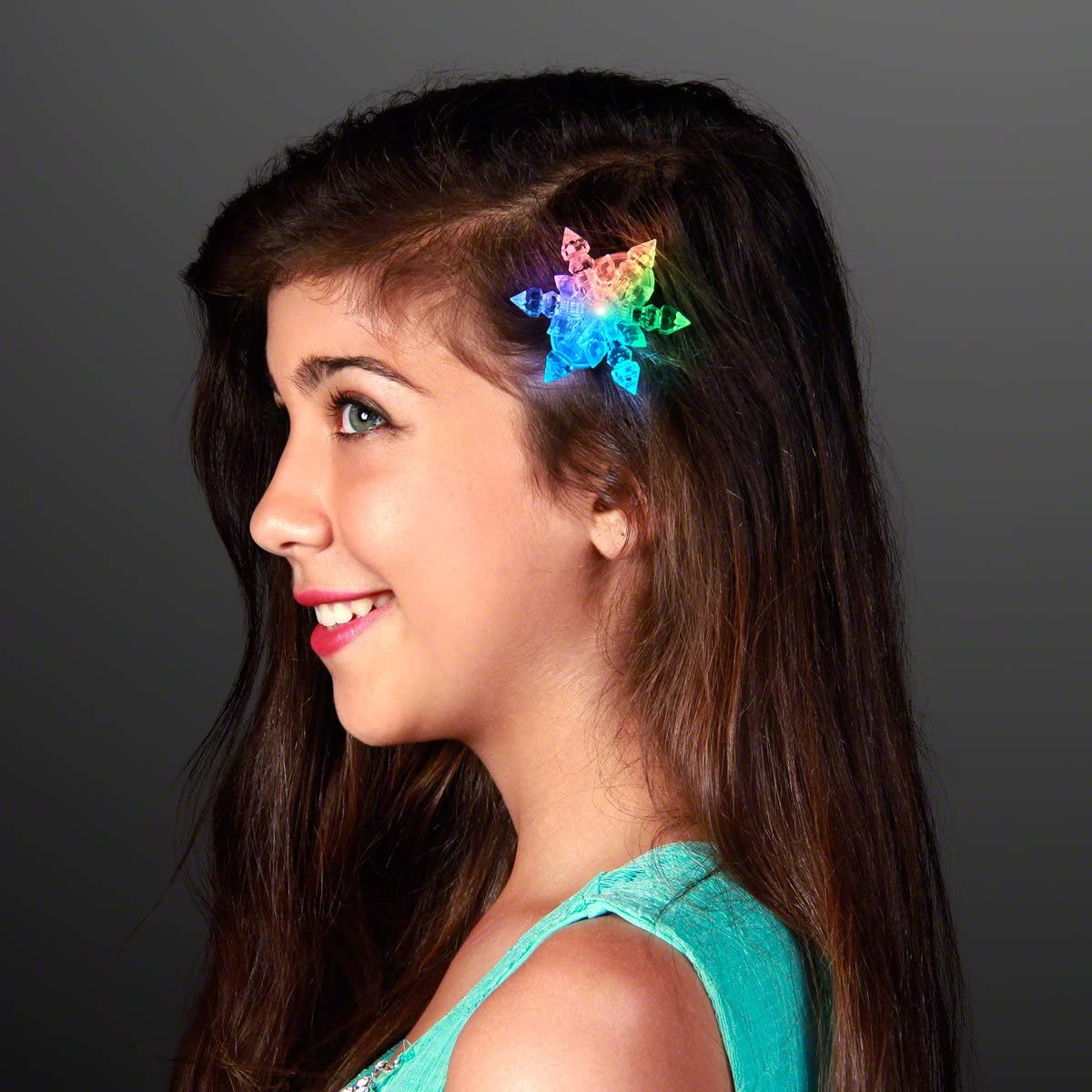 Kids Cute Llama Hair Clips Baby Girls Mermaid Rainbow Barrette Hair Accessories
