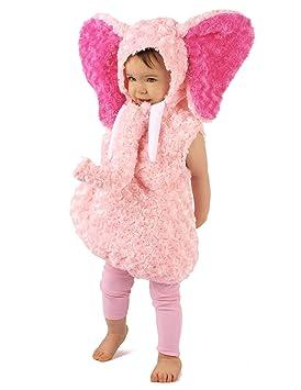 Generique - Disfraz Elefante Rosa niño 18-24 Meses (86-92cm ...