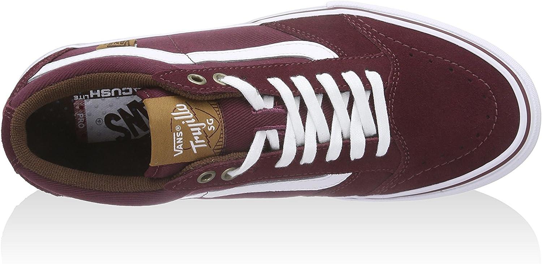 Vans M TNT SG Paire de Chaussures de Sport Rouge Vin, EU