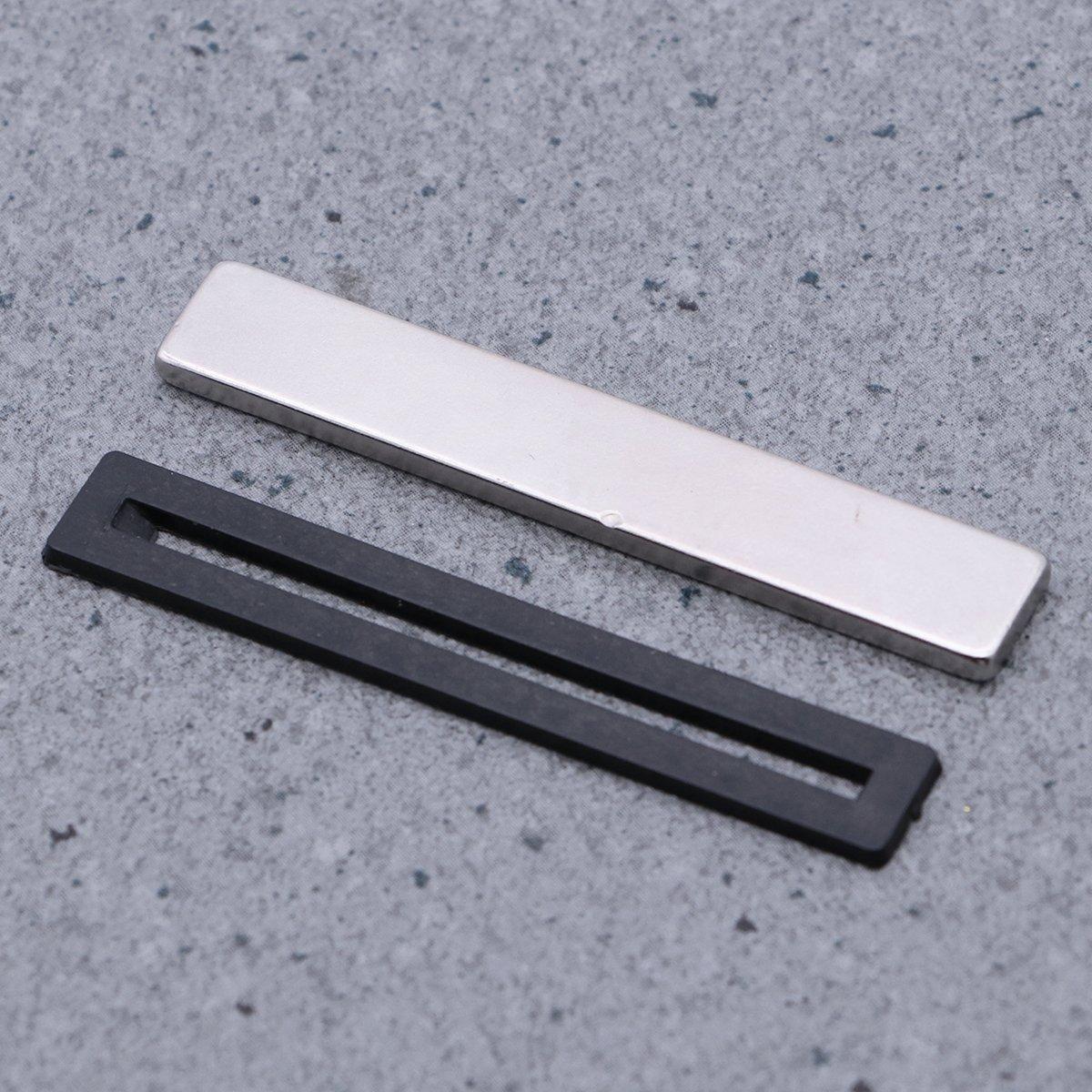 OUNONA Magneti Calamite neodimio Magneti in Terre Rare Magneti permanenti 60x10x3mm 6 Pezzi