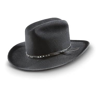 Bailey Chisolm Lite Felt Cowboy Hat Black BLACK M  Amazon.in  Clothing    Accessories cc7f06fc711