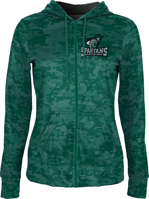 ProSphere Castleton University Girls Zipper Hoodie Digital School Spirit Sweatshirt