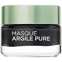 L'Oréal Paris Masque Visage Détoxifiant Eclat à l'Argile/Au Charbon 50 ml