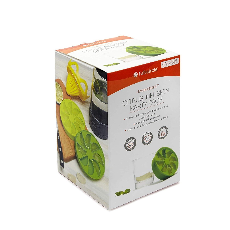 Mehrfarbig Full Circle Citrus Lemon Drops Infusion Party Pack
