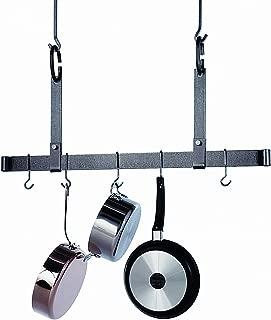 product image for Enclume PR11-36-HS Premier 36-Inch Adjustable Ceiling Bar, Hammered Steel
