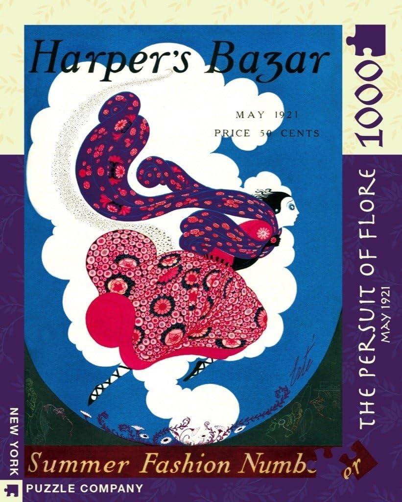 The Pursuit of Flore 1000 Piece Jigsaw Puzzle - NYPC Harpers Bazar Colección: Amazon.es: Juguetes y juegos