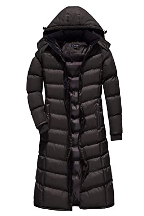 12bc99e3bb6 U2Wear Women s MaxiPlus-Size Water Resistant Puffer Full Length Coat with  Hood - 1X -
