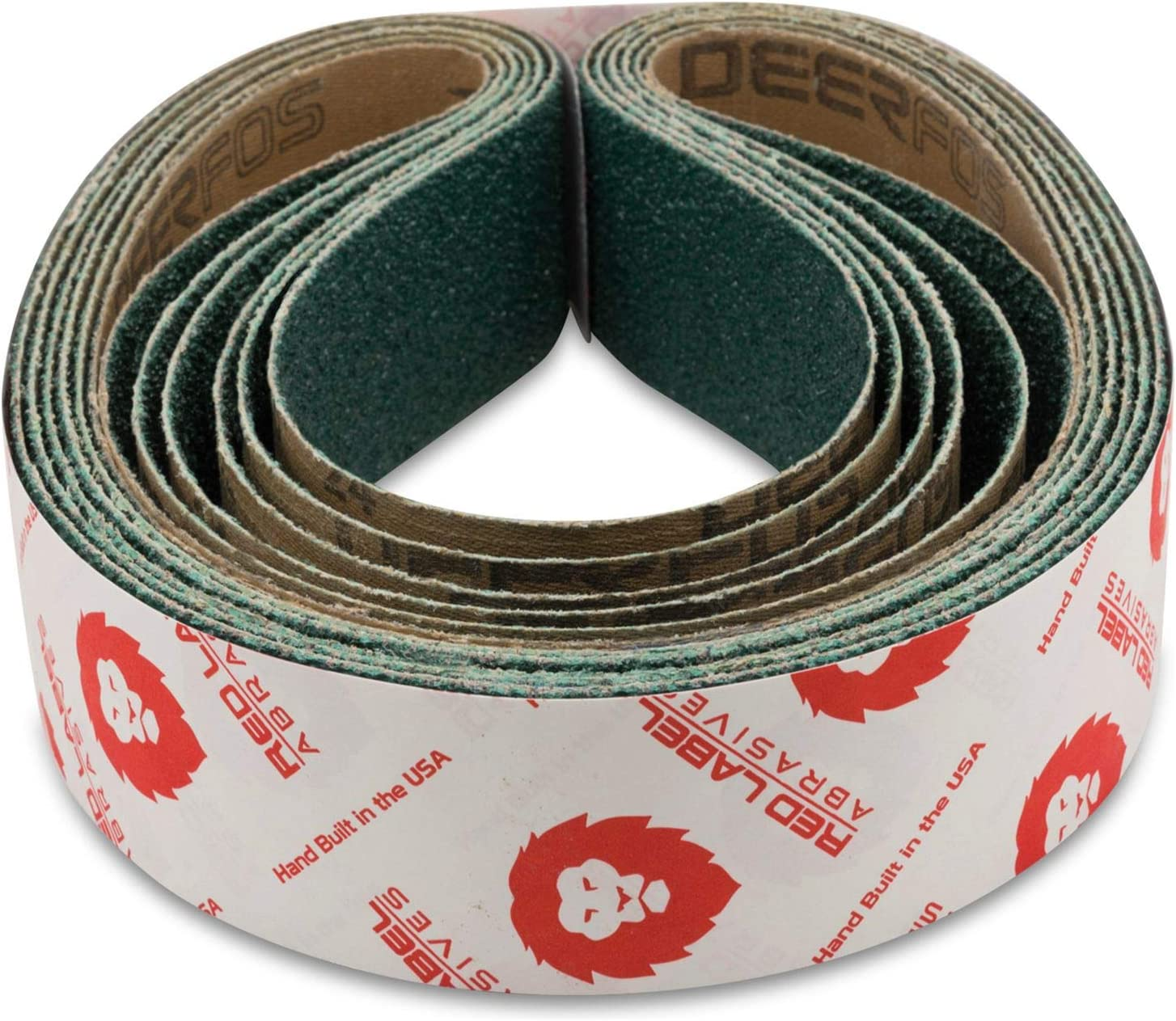 4 Pack 6 Inch X 80 Inch 400 Grit Cloth Edge Narrow Sanding Belts