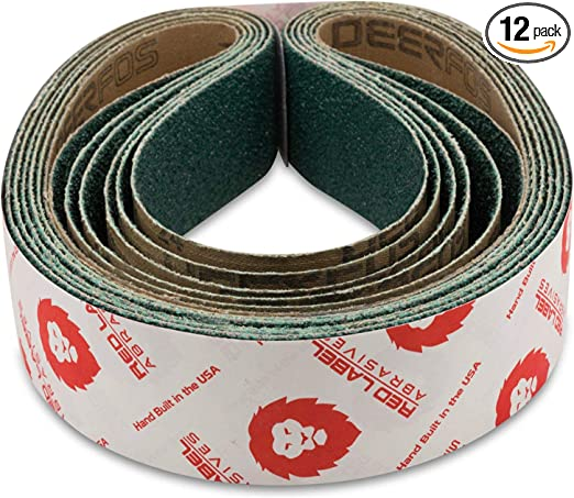 Details about  /50 Pcs Sanding Sander Belts 330*10mm 40//60//80//120 Grit Angle Grinder Belts