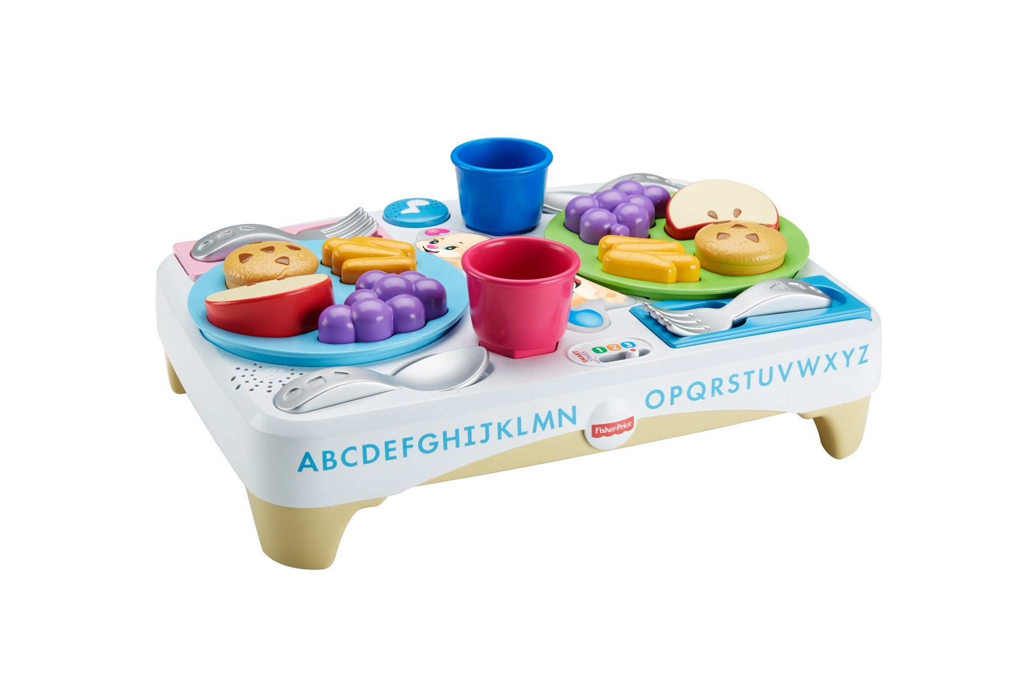 Fisher-Price FBM90 Say Please Snack Set, Laugh and Learn Toddler Kitchen and Food Role Play Toy, Suitable for 18 Months Plus by Fisher-Price (Image #2)