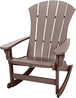 product image for Nags Head Hammocks Sunrise Adirondack Rocker, Chocolate