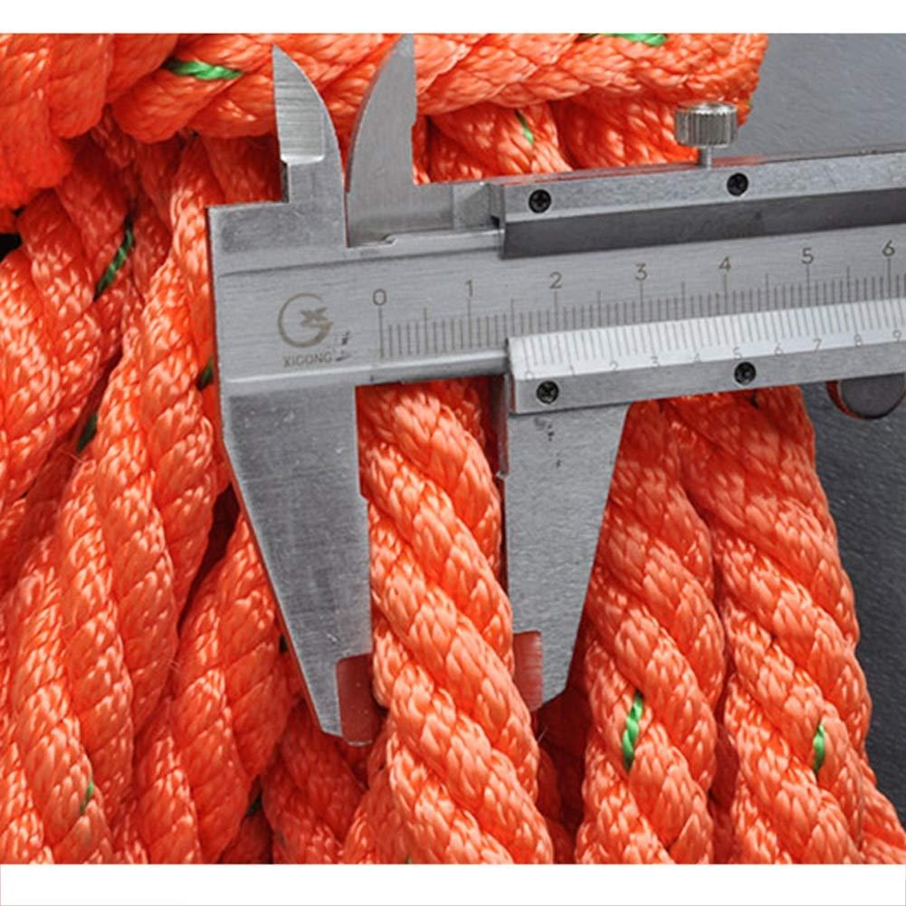 Seil Klettern Survival Rope Kletterseil Sicherheitsseil Sicherheitsgurt Lange Seilschlinge Seilschlinge Seilschlinge Obenliegende Arbeitsverlängerungslinie Rettungsleine Haken Haiming (Farbe   Orange, größe   10m) B07Q8Q8XGG Einfachseile Gute Qualität ccc5b8