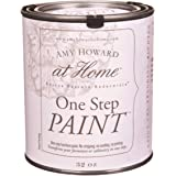 Amy Howard Home | One-Step Paint | Ballet White | Chalk Finish Paint | Zero VOCs | Eco-Friendly | No Stripping, Sanding…