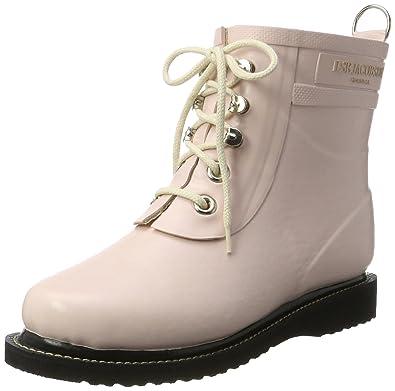 Womens Damen Gummistiefel Kurz, Rub2 Ankle Boots, Red Ilse Jacobsen