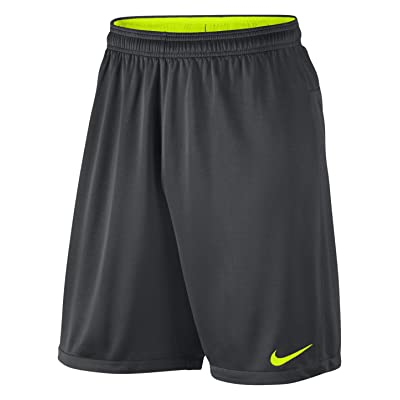 .com : NIKE Men's Academy Long Knit Football Shorts, Navy : Clothing