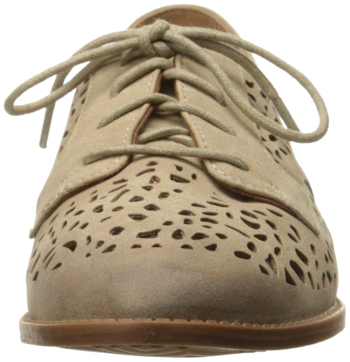 BC Footwear Women's Happy Youre Here Pointed Toe Flat B01MTW82BL 6 B(M) US|Taupe