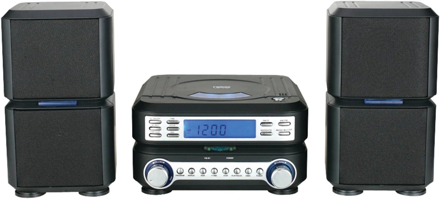 NAXA Electronics NAXA NS-438 Digital CD Micro System with AM/FM Stereo Radio