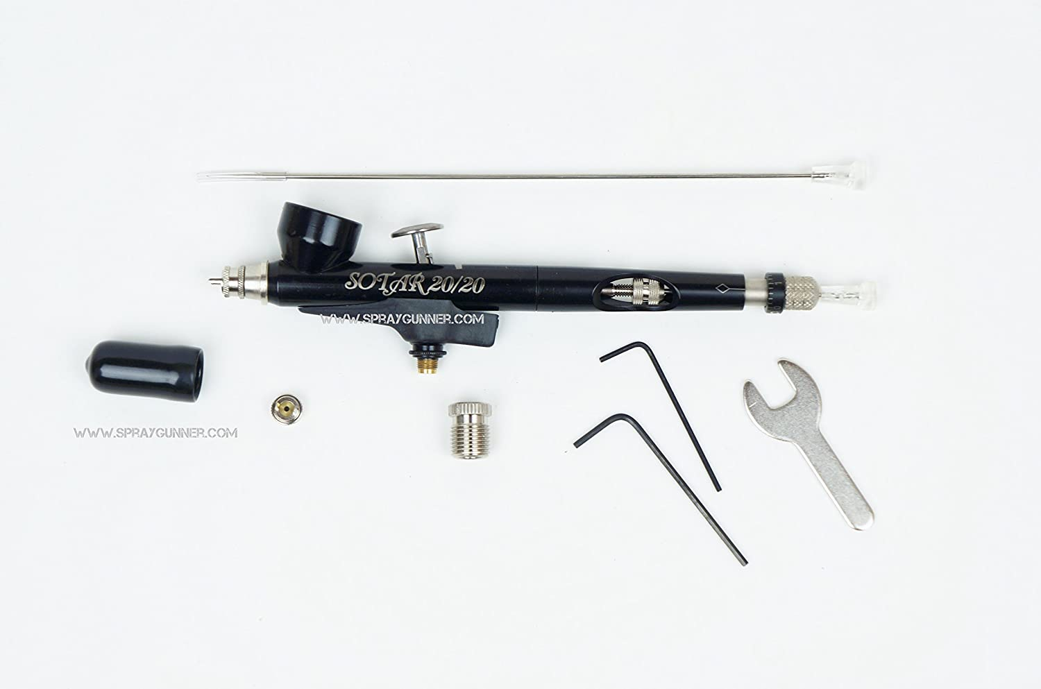 Badger Sotar 20/20 2020-2H Large Head Gravity Feed Airbrush 0 7mm