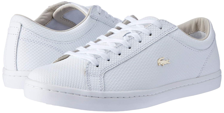 052f6f9717 Lacoste Straightset 316 3 CAW WHT, Baskets Femmes, Blanc 001, 42 EU:  Amazon.fr: Chaussures et Sacs