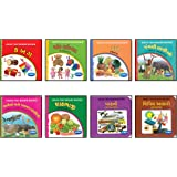 Vikas Tiny Board Books (G) -(Combo of 8)