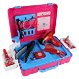 Makeup Case Make up Set Cosmetic Box Kit Pretend