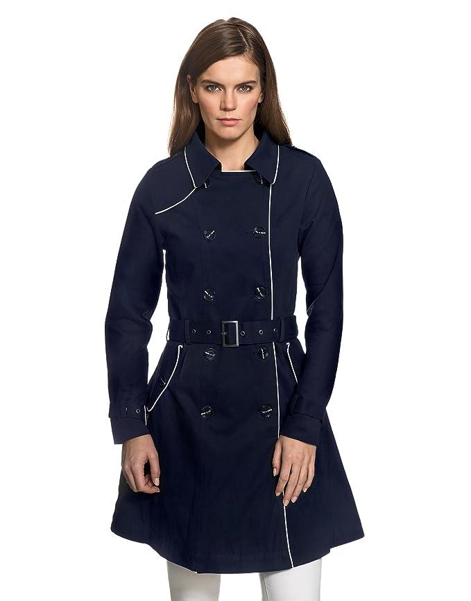 Vincenzo Manteau Gabardine Boretti Longue Style Trench Femme Coat WqrWwTFxn