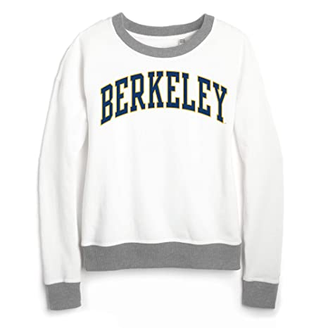 454910f9ab77 Image Unavailable. Image not available for. Color: Shop College Wear UC  Berkeley Cal League Women's Sweatshirt-White
