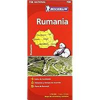 Mapa National Rumanía (Mapas National Michelin)
