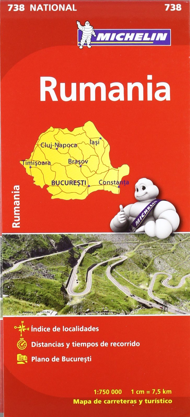 mapa michelin portugal 2013 2012).RUMANIA 738.(MICHELIN): 9782067172111: Books   Amazon.ca mapa michelin portugal 2013