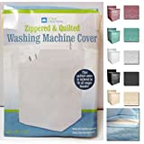1 Vinyl Quilted Washing Machine Dryer Cover Top