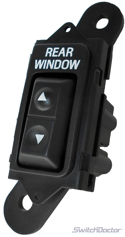Fits Ford Bronco Rear Window Power Window Switch 1992-1996 Switch Doctor