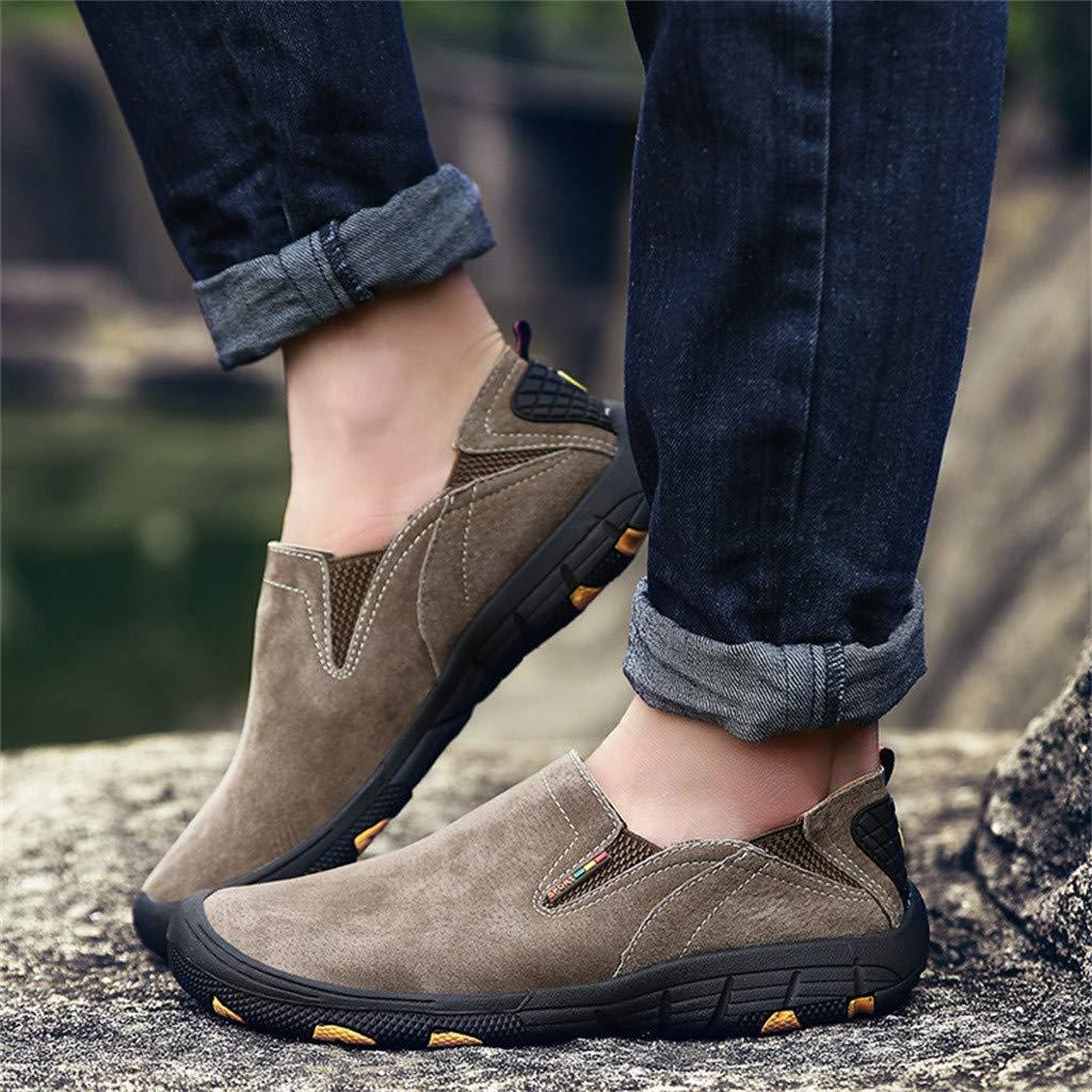 HCFKJ Zapatillas De Deporte Zapatillas Antideslizantes Casuales Antideslizantes para Hombres Resistentes Al Desgaste Y Antideslizantes