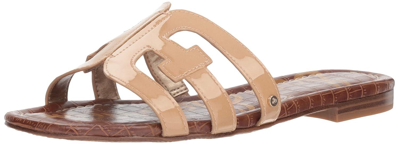 Almond Patent 9.5 US Sam Edelman Women's Bay Slide Sandal