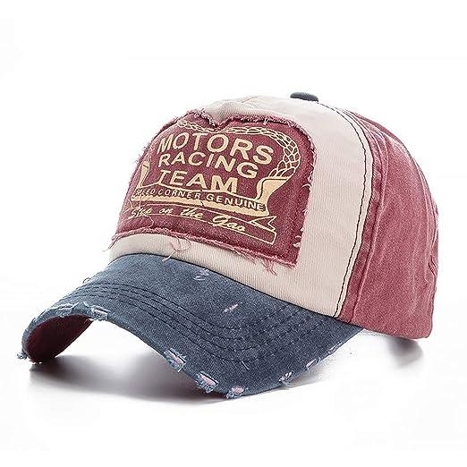 Amazon.com  Summer Autumn Men Baseball Cap Patchwork Hip Hop Cotton Sun Hat  Soft Snapback Streetwear Women Trucker Hats  Clothing 5694a59c6478
